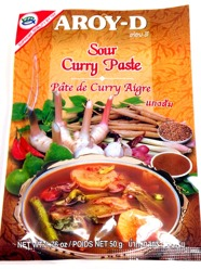 Aroy-D Sour Curry Paste 50g