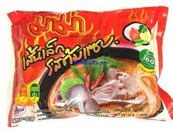 Mama Rice Noodle Tom Sabb Pork