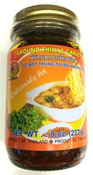 Double Seahorse Ground Chili & Garlic in Oil 227g