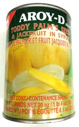 Aroy-D Toddy Palm´s Seed & Jackfruit in Syrup