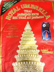 Royal Umbrella Thai Jasmin Rice 10kg År 2020