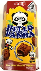 Hello Panda Choco Biscuits with Chocolate