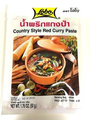 Lobo Country Style Red Curry