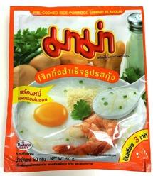 Mama Pre Cooked Rice Porridge Shrimp
