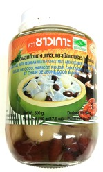 Chaokoh Coconut Gel Mix Redbean in Syrup