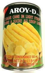 Aroy-D Sugar Cane in Light Syrup