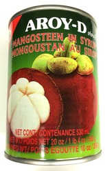 Aroy-D Mangosteen in Syrup