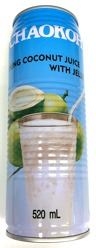 Chaokoh Coconut Juice & Jelly