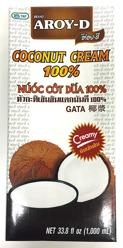Aroy-D Coconut Cream 100% 1L