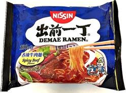 Nissin Demae Ramen Spicy Beef