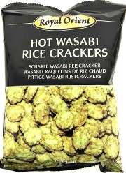 Royal Orient Hot Wasabi Rice Crackers