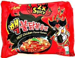 Sam Yang Hot Chicken Ramen Spicy x2