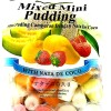 Cocon Mini Pudding Mixed Fruits 375g