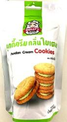 Dollys Pandan Cream Cookies 70g
