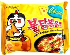 Sam Yang Hot Chicken Cheese