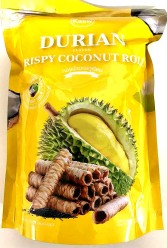 Kaew Crispy Roll Durian 100g