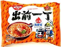 Nissin HK Ramen Spicy Seafood