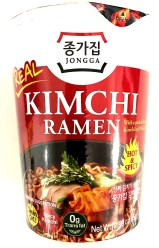 Jongga CUP Kim Chi Ramen Hot & Spicy