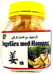 Lucky Cat Dried Ginger With Honey 100g