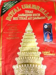 Royal Umbrella Thai Jasmin Rice 20kg År 2020