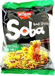 Nissin Soba Teriyaki Wok Style