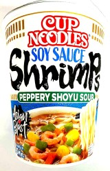 Nissin CUP Soy Sauce Shrimp