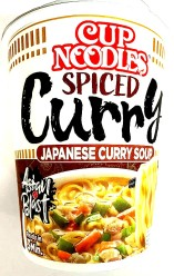 Nissin CUP Spiced Curry Japanese