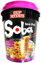 Nissin Soba CUP Thai Curry Wok Style