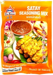 Por Kwan Satay Seasoning Mix & Sauce 100g