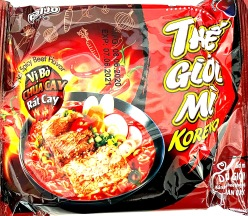 Paldo The Gioi Mi Hot & Spicy Beef