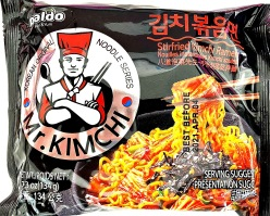 Paldo Stir-Fried Kimchi Ramen