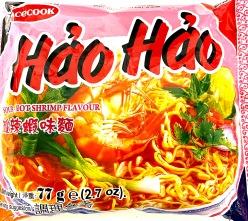 Hao Hao Sour Hot Shrimp