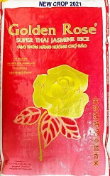 Golden Rose Thai Jasmin Rice 20kg År 2021