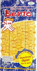 Bento Squid Snacks Hot & Spicy 20g