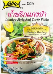 Lobo Country Style Red Curry Paste