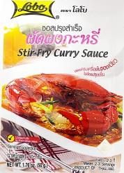 Lobo Stir Fry Curry Sauce