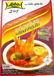 Lobo Tom Yum Paste with Creamed Coconut