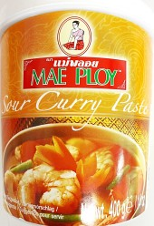 Mae Ploy Sour Curry Paste 400g