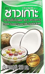 Chaokoh Pandan Scented Coconut Milk 250ml
