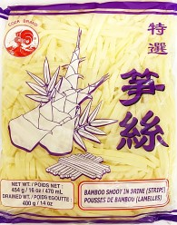 Cock Bamboo Shoot (Strip) in Bag 454g