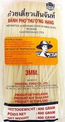 Farmer Rice Noodle 3mm 400g