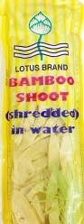 Lotus Bamboo Shoot Shredded 250g