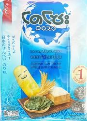 Dozo Japanese Rice Cracker Seaweed 56g