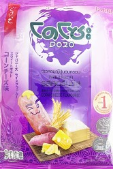 Dozo Japanese Rice & Potato Cracker Corn Cheese 56g