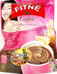 Fitné 3 in 1 Coffee with Collagen 150g