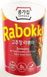 Jongga Cup Rabokki Gochojang Hot & Sweet