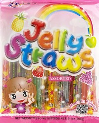 ABC Assorted Fruit Jelly Straw 260g