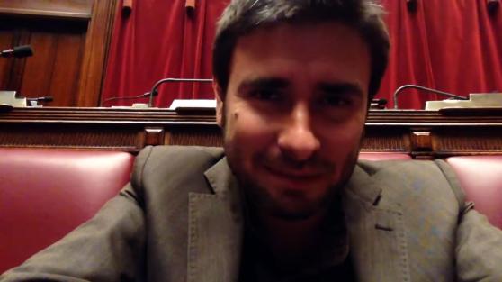 """""""Nu måste alla prata med oss"""" Alessandro Di Battista, Femstjärnerörelsen"""