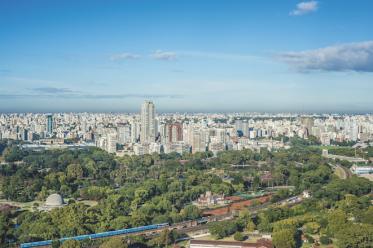 Palermo, ett av de största grönområdena i Buenos Aires