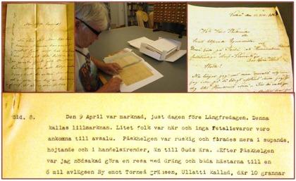 Fynd på Kungliga biblioteket juli 2014